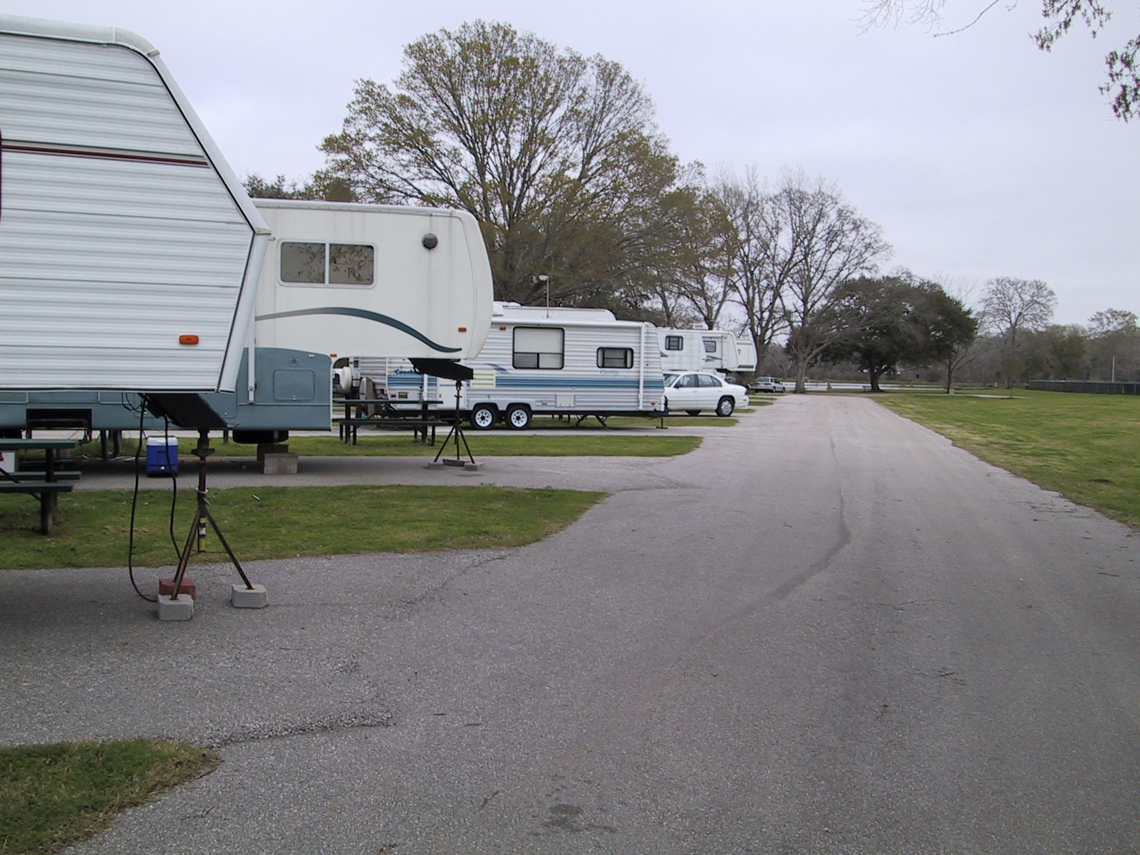 Recreational Vehicles at RV Park