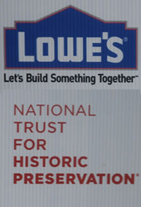 Lowes and National Trust Preservation Donors