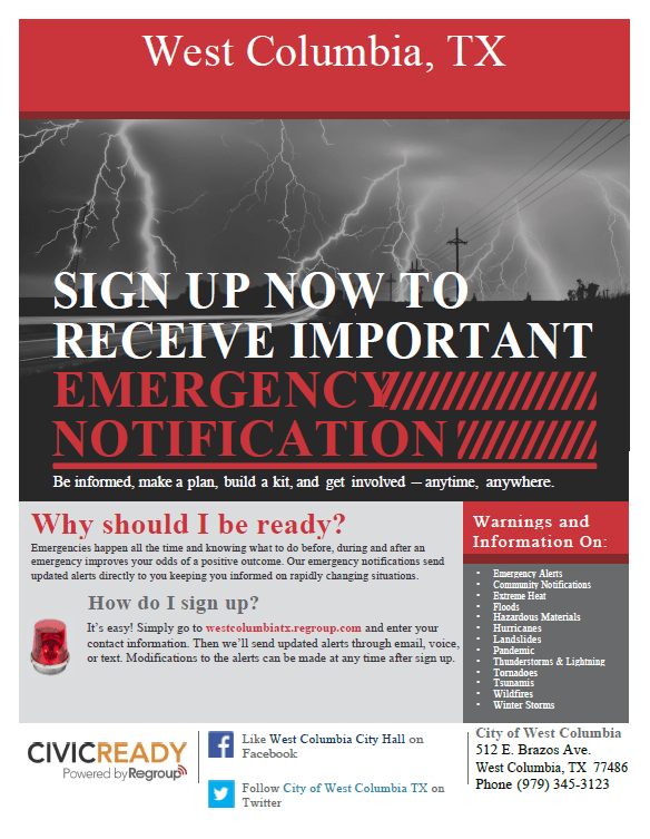 CivicReady Flyer