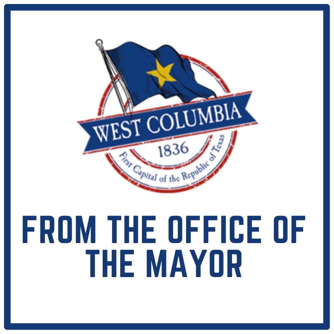 A letter from the Mayor